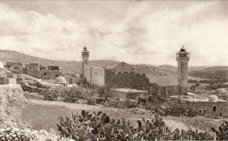 Tomb of the Patriarchs in Hebron (circa 1910)