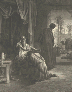 Isaac Blessing Jacob (Gustave Dore, from the 1865 La Sainte Bible)