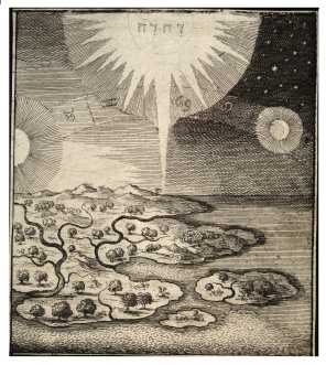 Wenceslas_Hollar_-_Creation_of_sun_and_moon_(State_1)