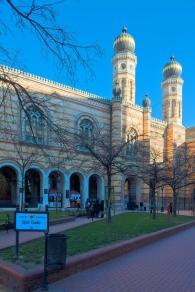 Dohany Street Synagogue in Budapest, via Wikimedia Commons
