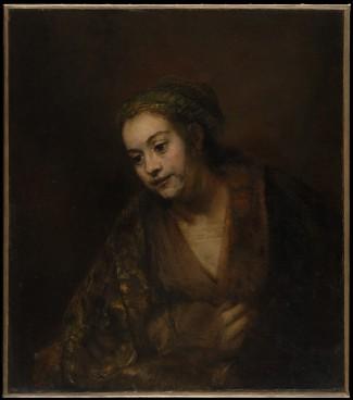 Hendrickje Stoffels (Rembrandt van Rijn, mid- 1650's)