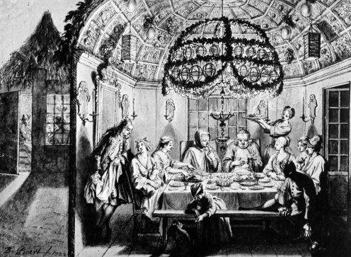 sukkah_meal_amsterdam_1922_bernard_picart_wigoder_editor_jewish_art_civilization_1972_p60-1